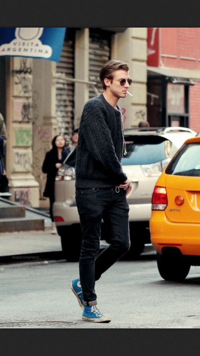 Mens street style casual