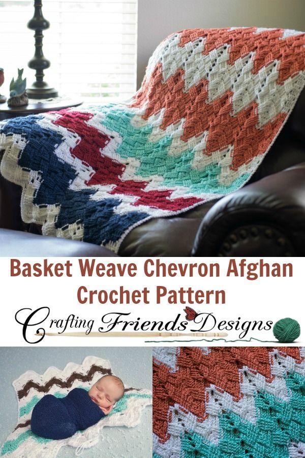 Increíble Patrón Afghan Ondulación Redondo Crochet Colección - Manta ...