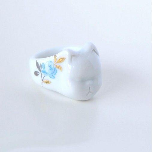 Číča...Blue Rose by Porce - SAShE.sk - Handmade Prstene