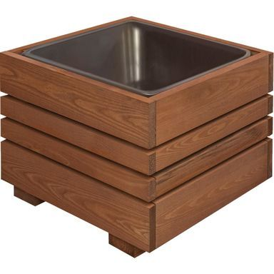 Pin By Kami On Meble Outdoor Gardens Design Wooden Garden Planters Wooden Planters
