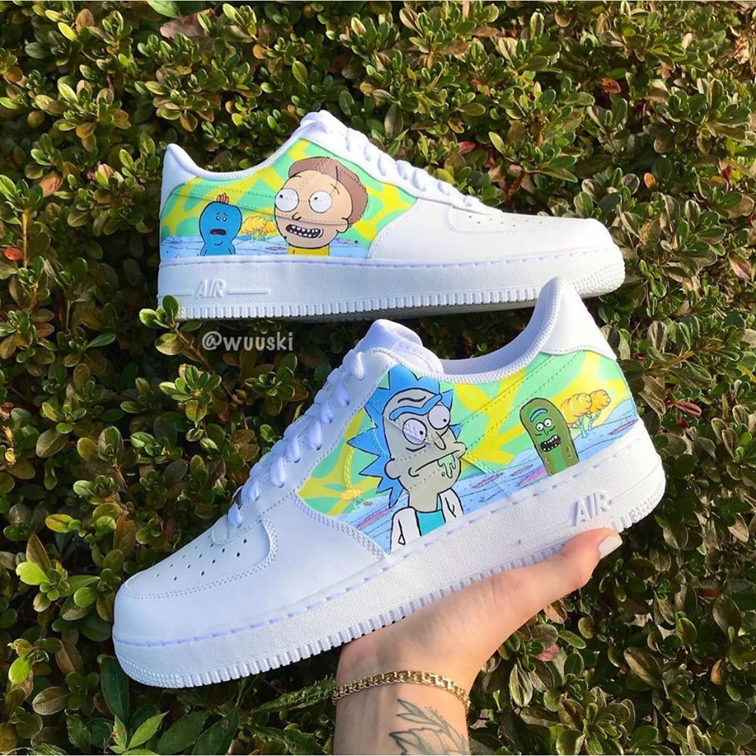 Rick & Morty Air Force 1s Rate these! Cop or Drop? Follow