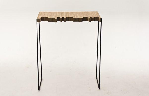 Side Table by Sam Stringleman, via Behance