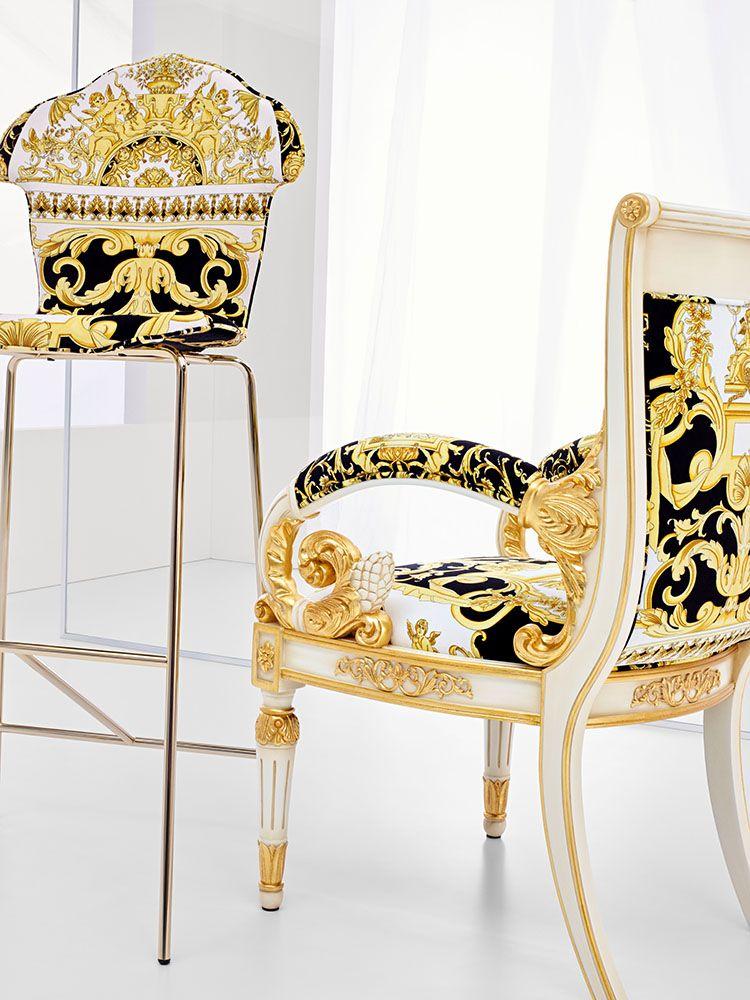 Versace Collection Salone Internazionale Del Mobile 2018 Versace Furniture Home Furniture Versace Home