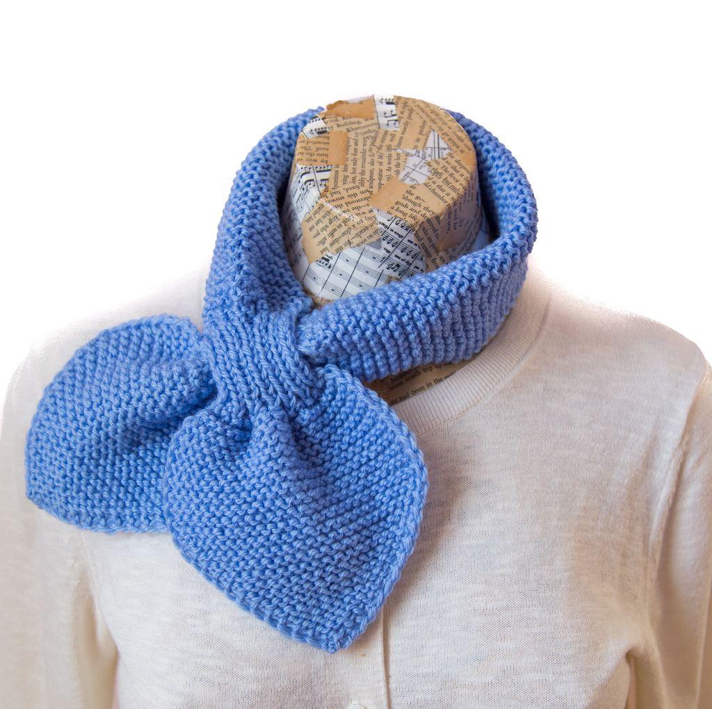Half Ascot Scarf | Knitting | Pinterest