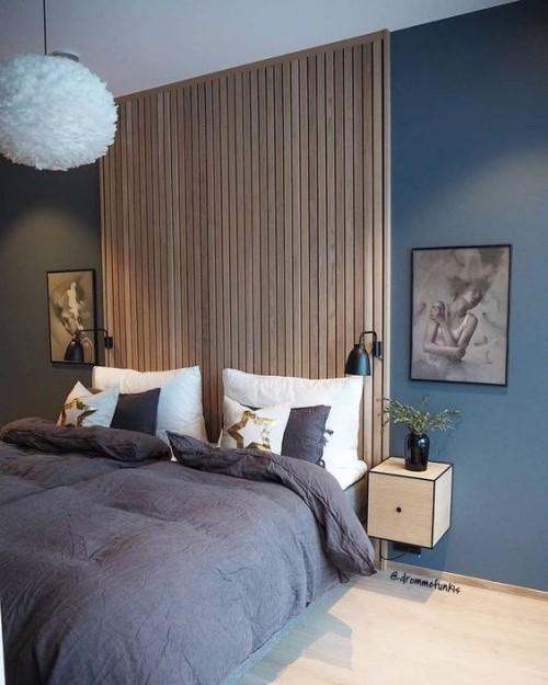 Akzentwand - der letzte Trend in der modernen Wandgestaltung - Fresh Ideen für das Interieur, Dekoration und Landschaft #slaapkamerideeen
