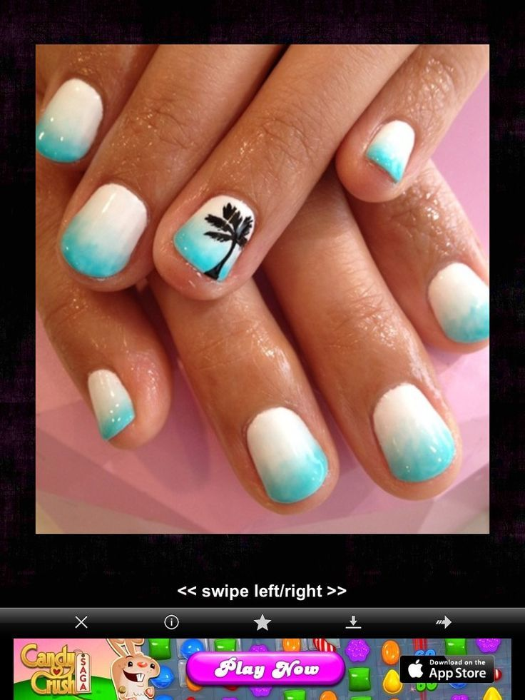 Top 18 Beach Style Nail Design For Summer – New Famous Fashion ...