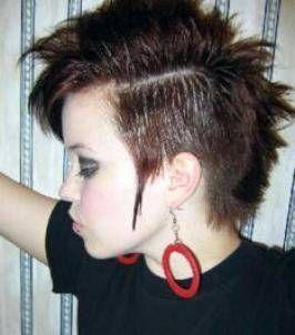 Japanese Punk Hairstyles For Short Hair Punk Girl Hair Punk
