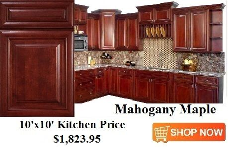 Mahogany Maple Cabinets From Cabinetsdirectrta Com Kitchen Cabinets Prices Online Kitchen Cabinets Kitchen Prices