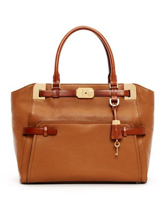 Save on the Michael Kors Large Blake Pebbled Leather Brown Satchel! This  satchel is a top 10 member favorite on Tradesy.