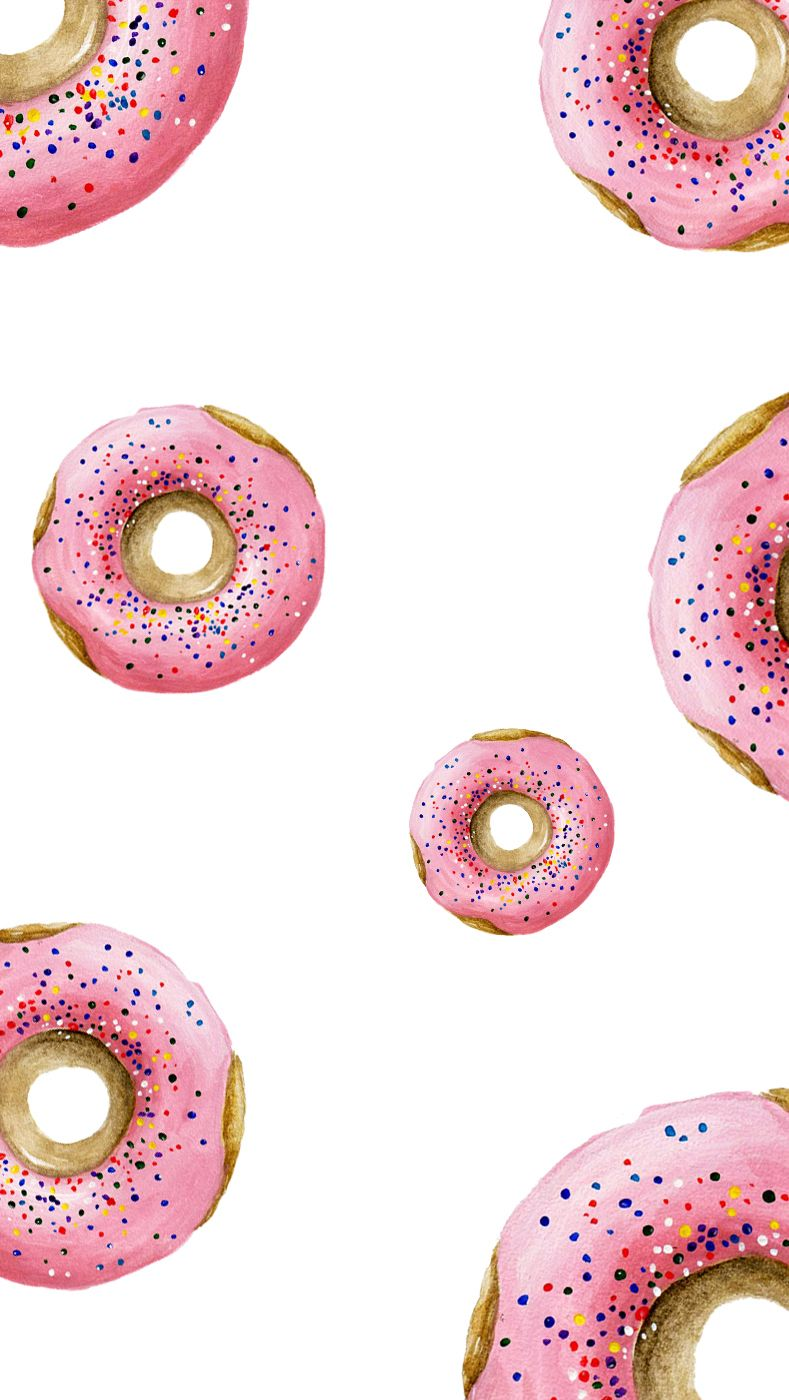 Wallpaper Donut wallpapers Pinterest Donuts