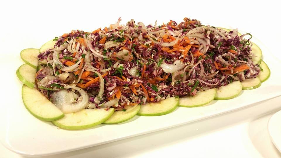 سلطة الكرنب الاحمر Food Salads Vegetables
