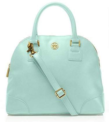 beauty Tory Burch mint satchel!