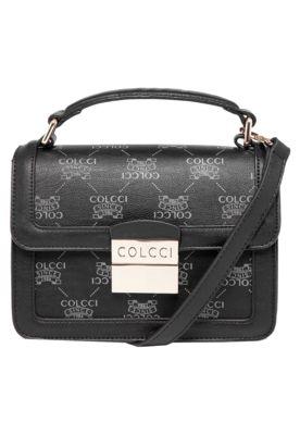 b872d6ab7 Bolsa Colcci Carteiro Preta, com monograma da marca e adereços da marca.  Alça tiracolo de 115cm ajustável e fecho por encaixe.