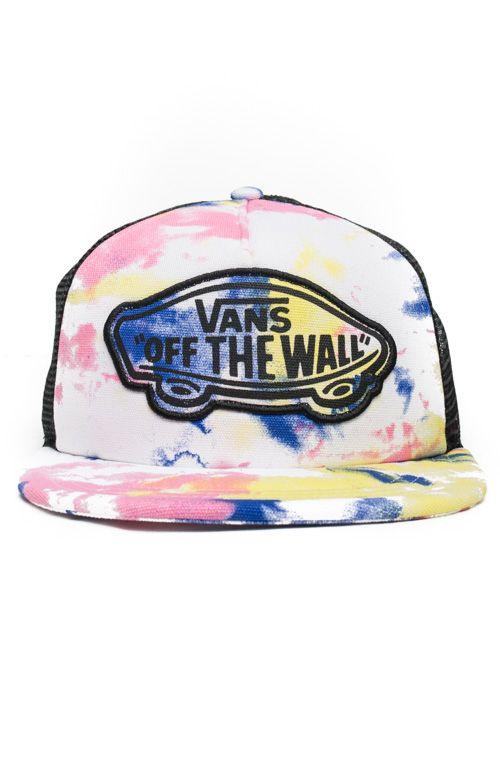 72d920f2 Vans Womens, Beach Girl Trucker Hat - Tie Dye - Apparel - MOOSE Limited