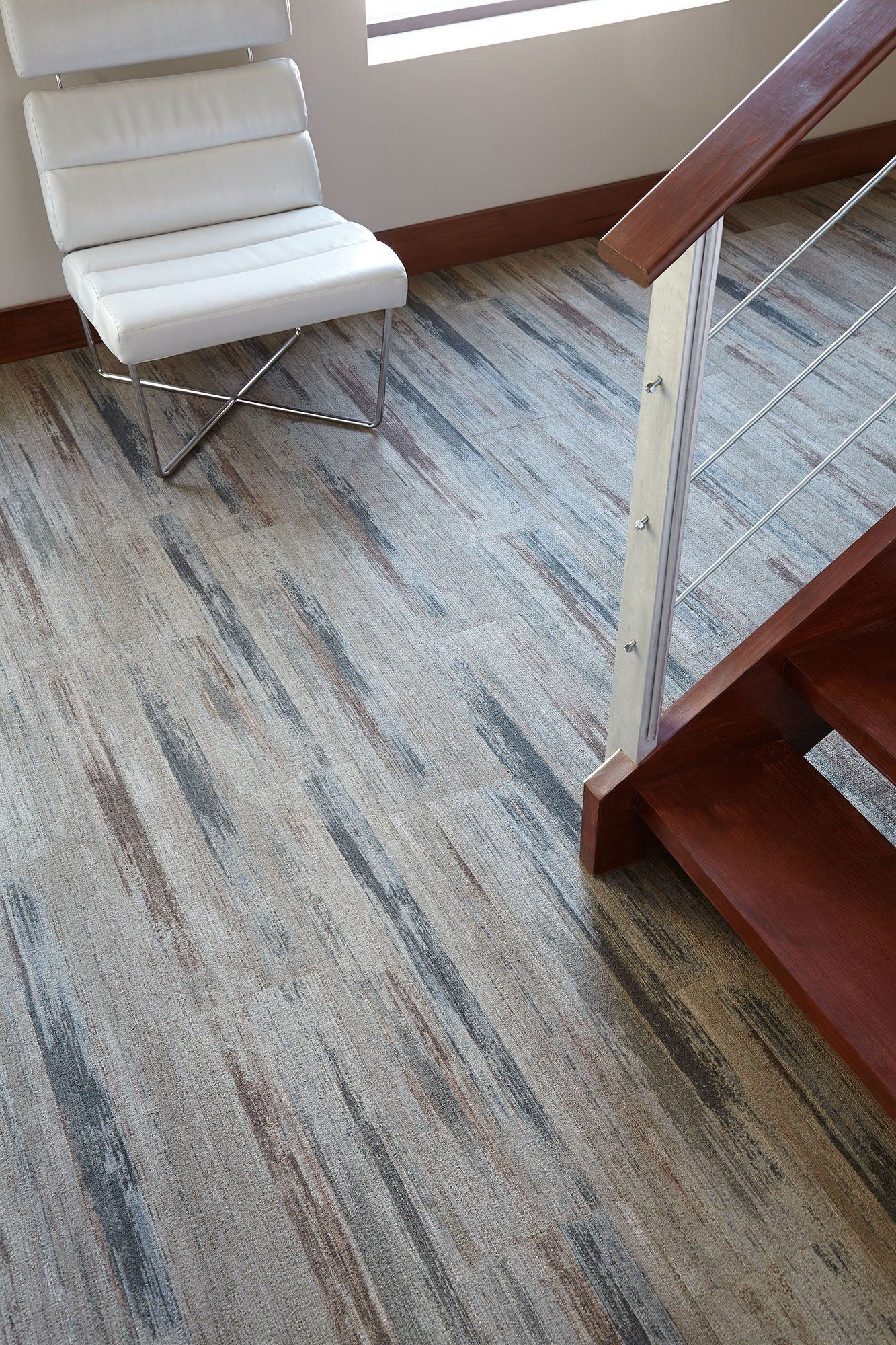 Harley color carpet tiles - Our Plank Installations Give Color Field An Added Dose Of Texture Highlighting Its Contrasting Colors Color Artplanksgymtilescarpetstexture