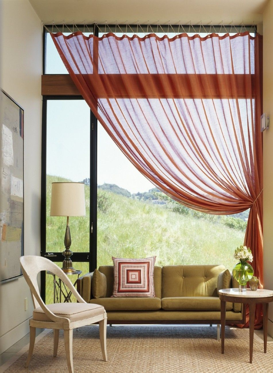 Bad designtrends window sheers  homes  المنازل  pinterest  window sheers window