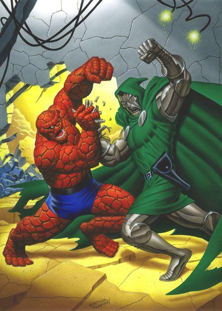 The Thing vs Dr Doom by Steve Fastner & Rich Larson