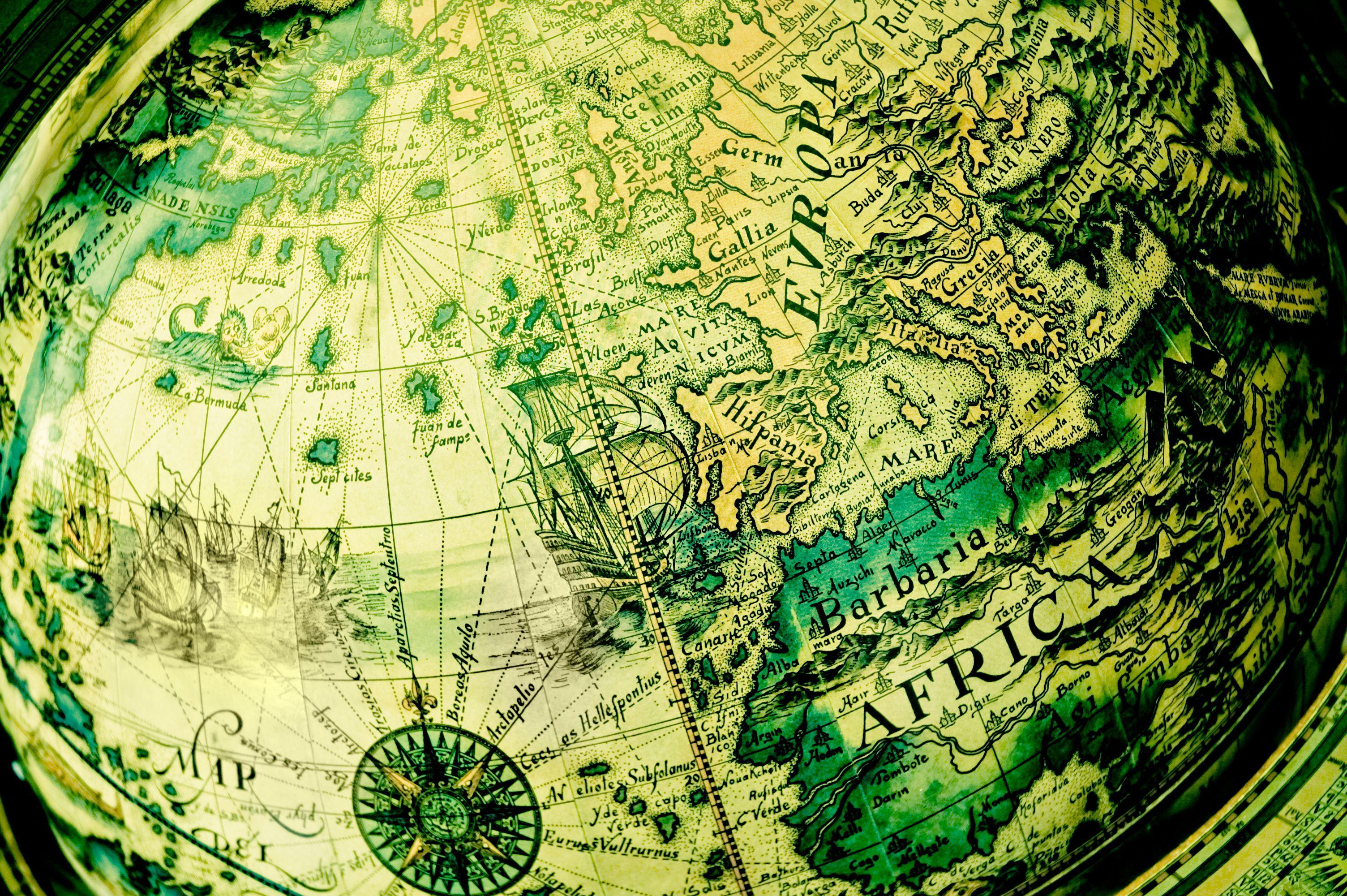 Pin Von Flauschis Welt Auf Erdkugel Mit Bildern Seekarte Bilder Erde