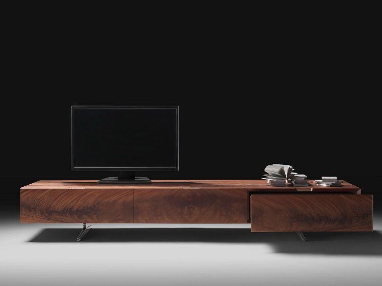 meuble tv design - 23 meubles bas pour moderniser le salon | tvs ... - Meuble Bas Tele Design