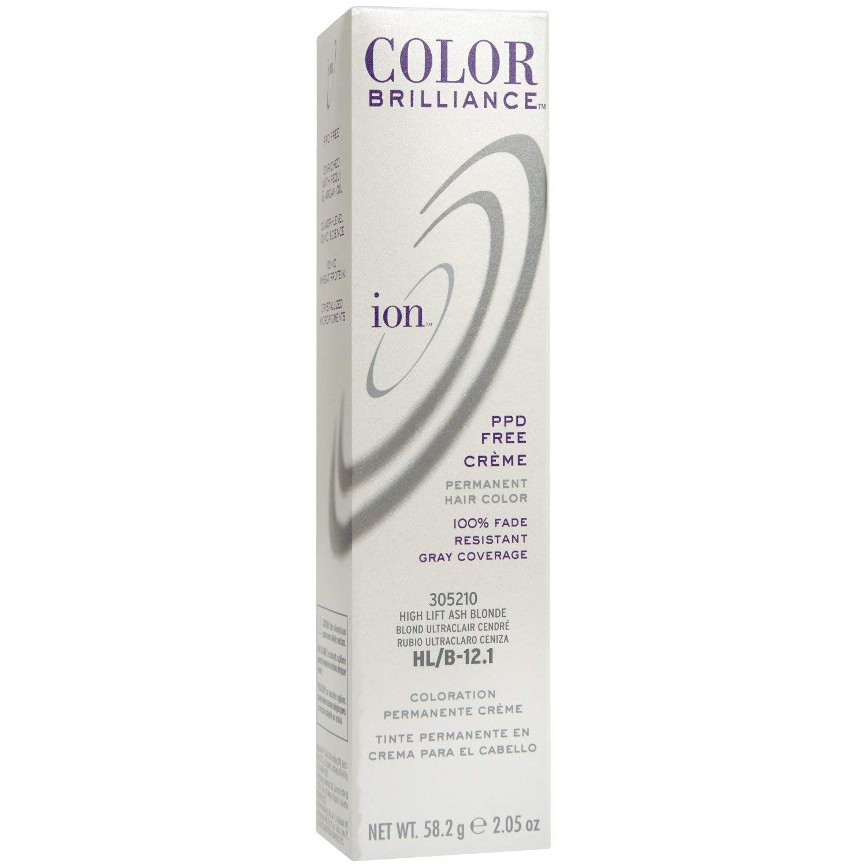 Ion Hl B Hi Lift Ash Blonde Permanent Creme Hair Color Hl B Hi
