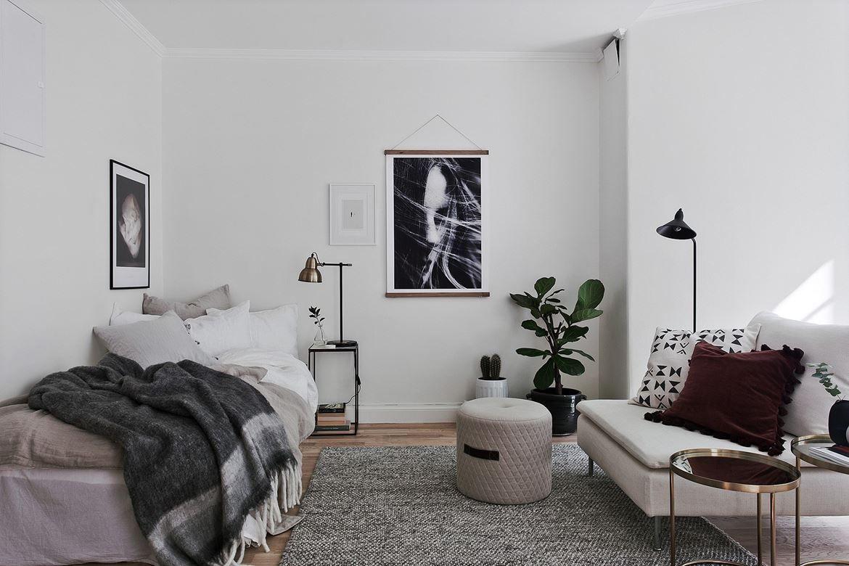 Le charme du passé  Design för små rum, Inredning, Hem sovrum