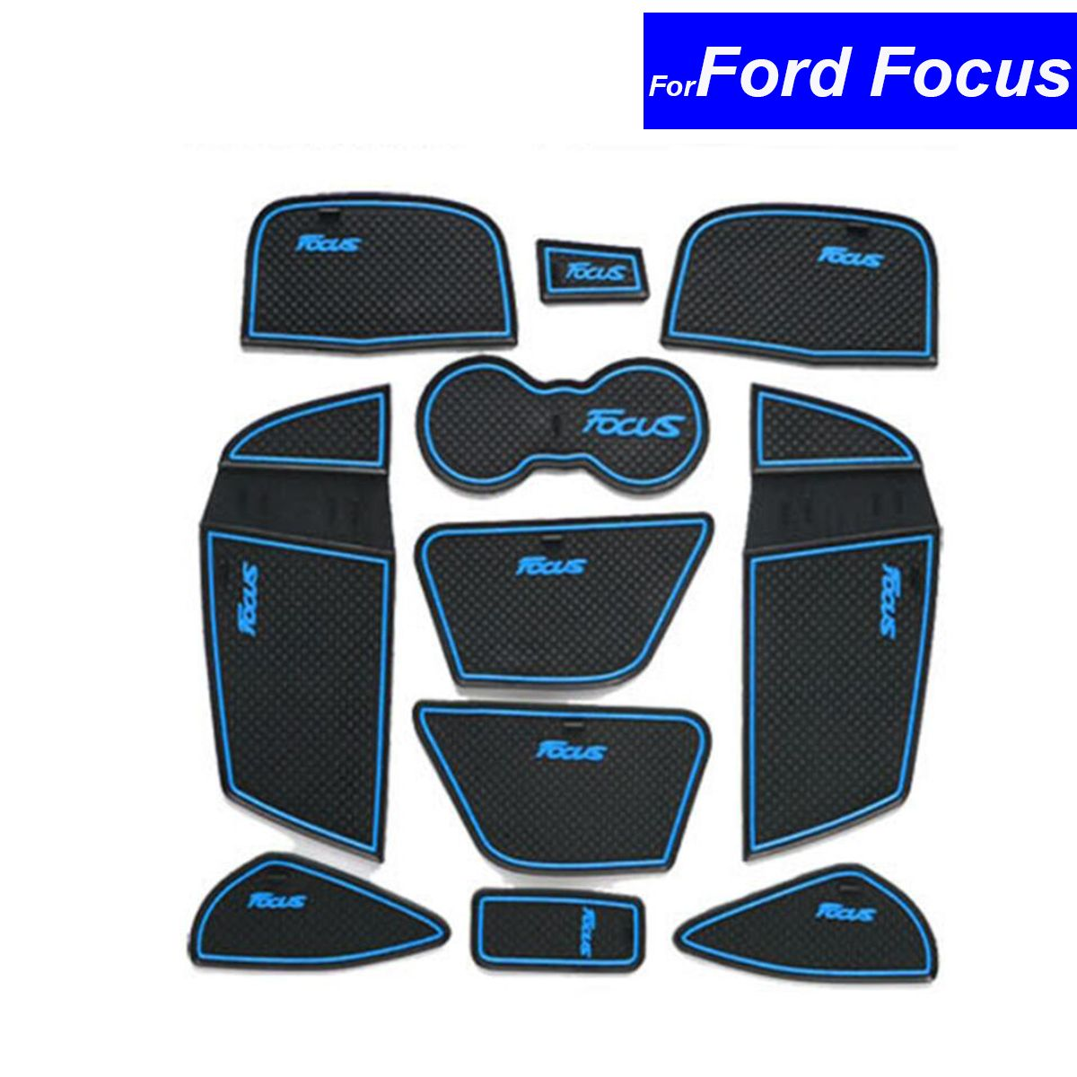 pcs car interior door slot pad cup cushion automotive decoration