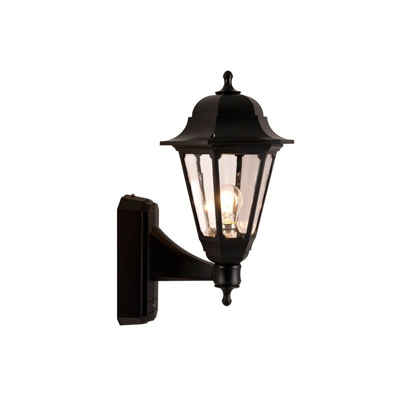 Asd Coach Outdoor Lantern Wall Light With Dusk To Dawn Sensor