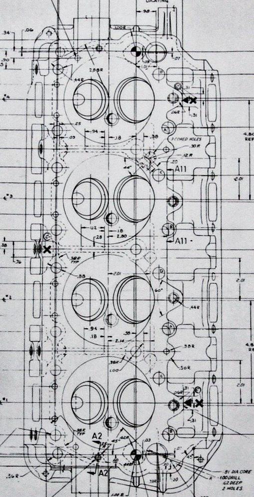 cncenginedynamics      Blueprint 426    Hemi    head       Juguetes   Autos  Motocicletas  Motores