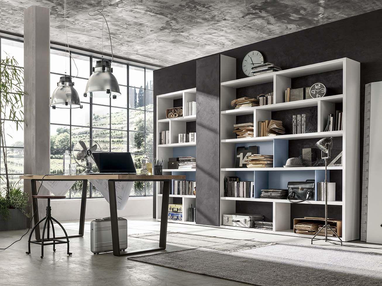 Librerie e pareti attrezzate..#itesoricoloniali #librerie #living ...