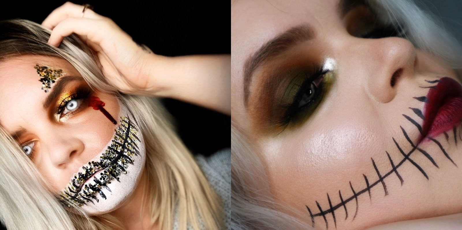 (AD) SIMPLE & BUDGETFRIENDLY HALLOWEEN MAKEUP STEP BY