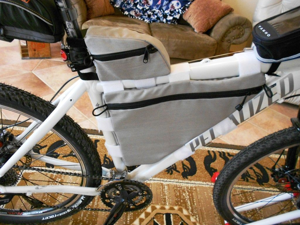 frame bag bicycle mountain bike sewing