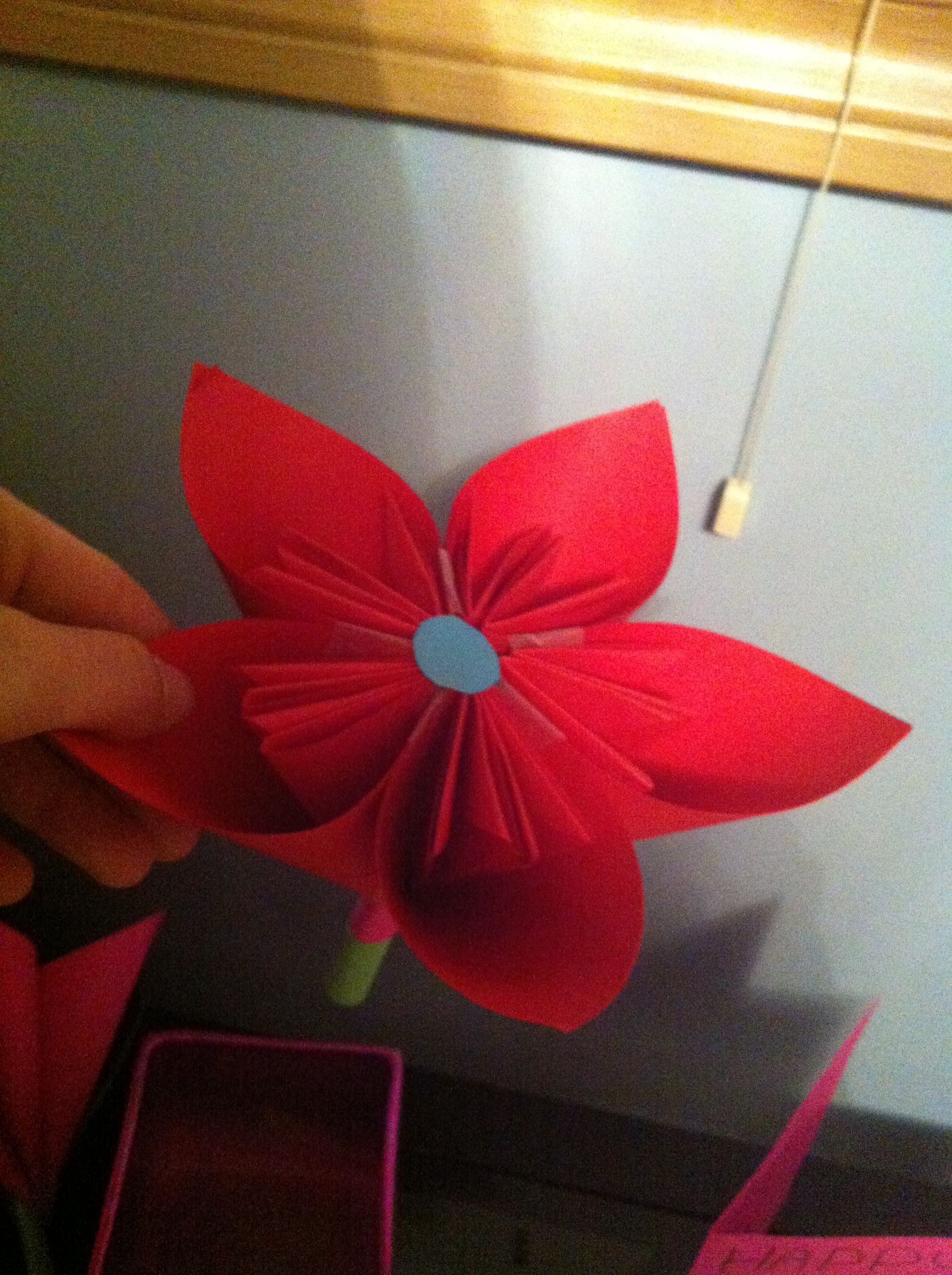 Made A Flower Out Of Paper Ppl P So Proud Craftsthisiscoolyo