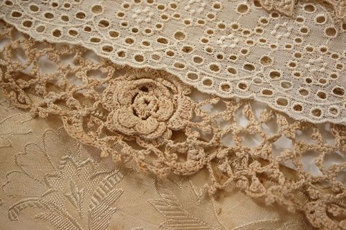 vintage lace and trim