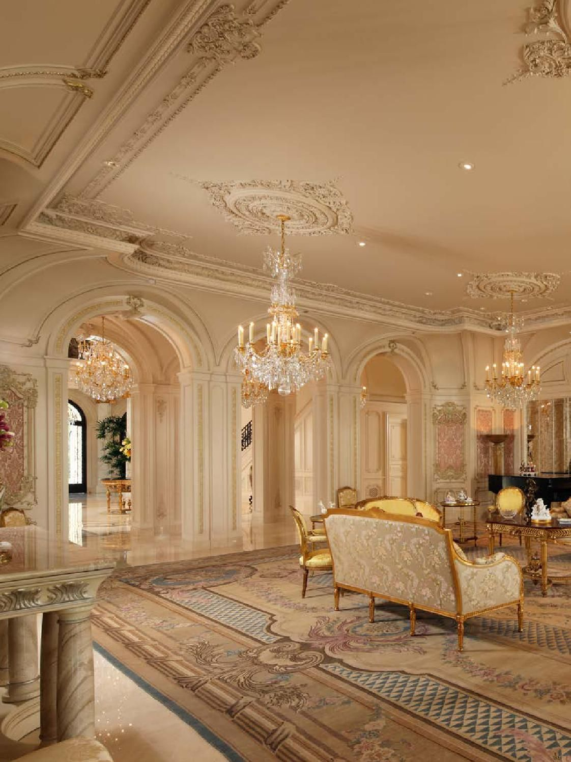 European Neo Classical Style Ii With Images Luxury Home Decor