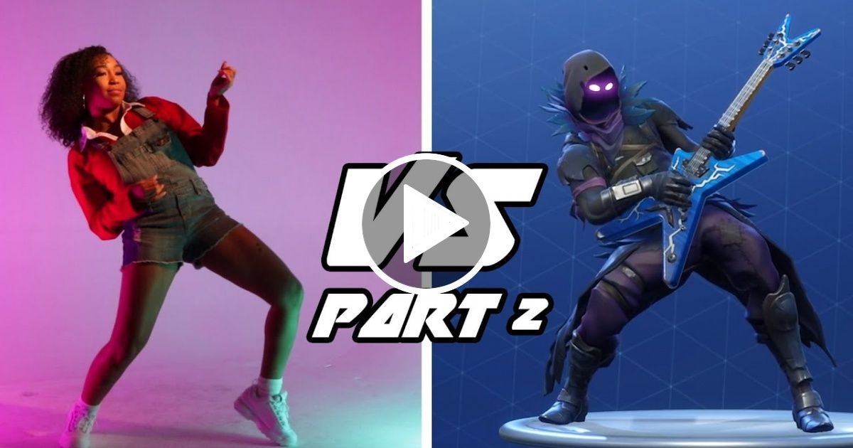 Professional Dancers Try The Fortnite Dance Challenge Part