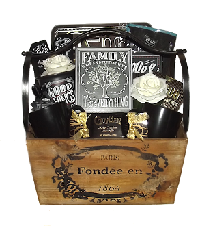 Chalk Art Home Decor Gift Basket By Thoughtful Expressions Gift