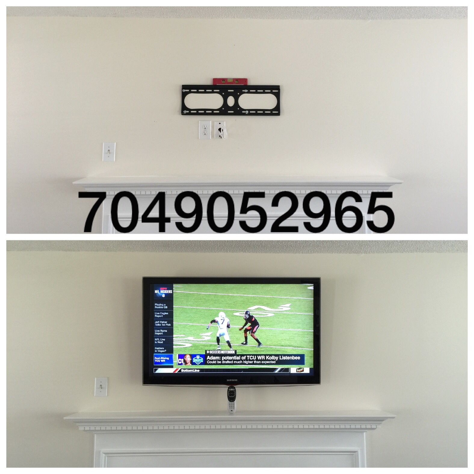 Everyday specials on tv mounting and home theater service