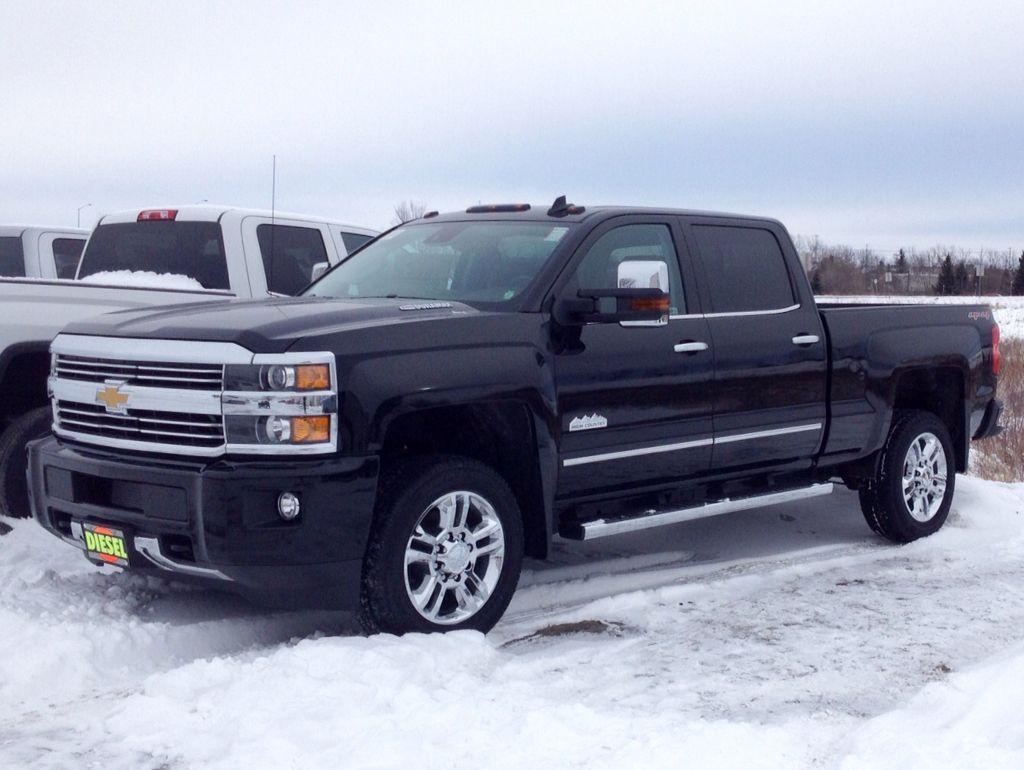 2015 2500 chevy high country duramax diesel