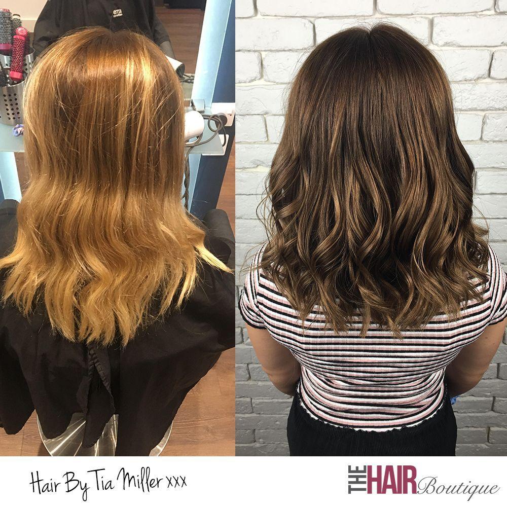 Light Reflective Caramel Brunette Colour Transformation By Tia Miller Light Caramel Hair Hair Hair Styles