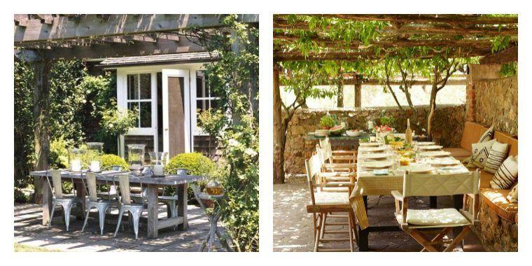 Garten Und Terrassenidee Schaffen Sie Einen Geselligen Gartenraum Haus Garten Ideen 2019 Terrassen Ideen Terrasse Gartenmobel