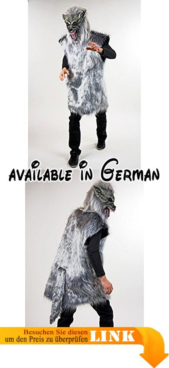 Böser Wolf Kostüm Wolfskostüm L Biest Kostüm Wolfkostüm Grauer Wolf ...