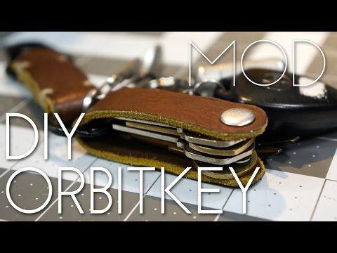 Mini Mod Monday Diy Leather Key Organizer Youtube Diy