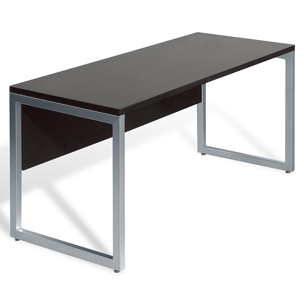 Quality Home Office Desks: Wood/ Aluminum 48-inch Espresso Computer Table