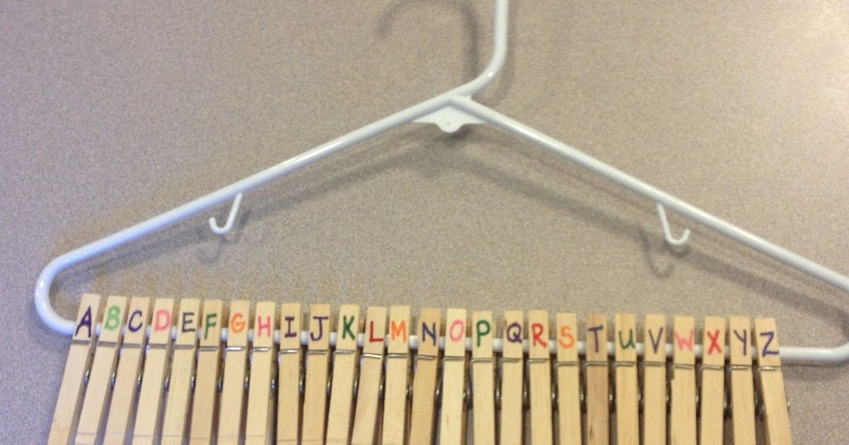 TEACCH Clothespins & Hangers Clothespins are great fine motor practice and can be utilized in so many diverse ways. I placed this activi...