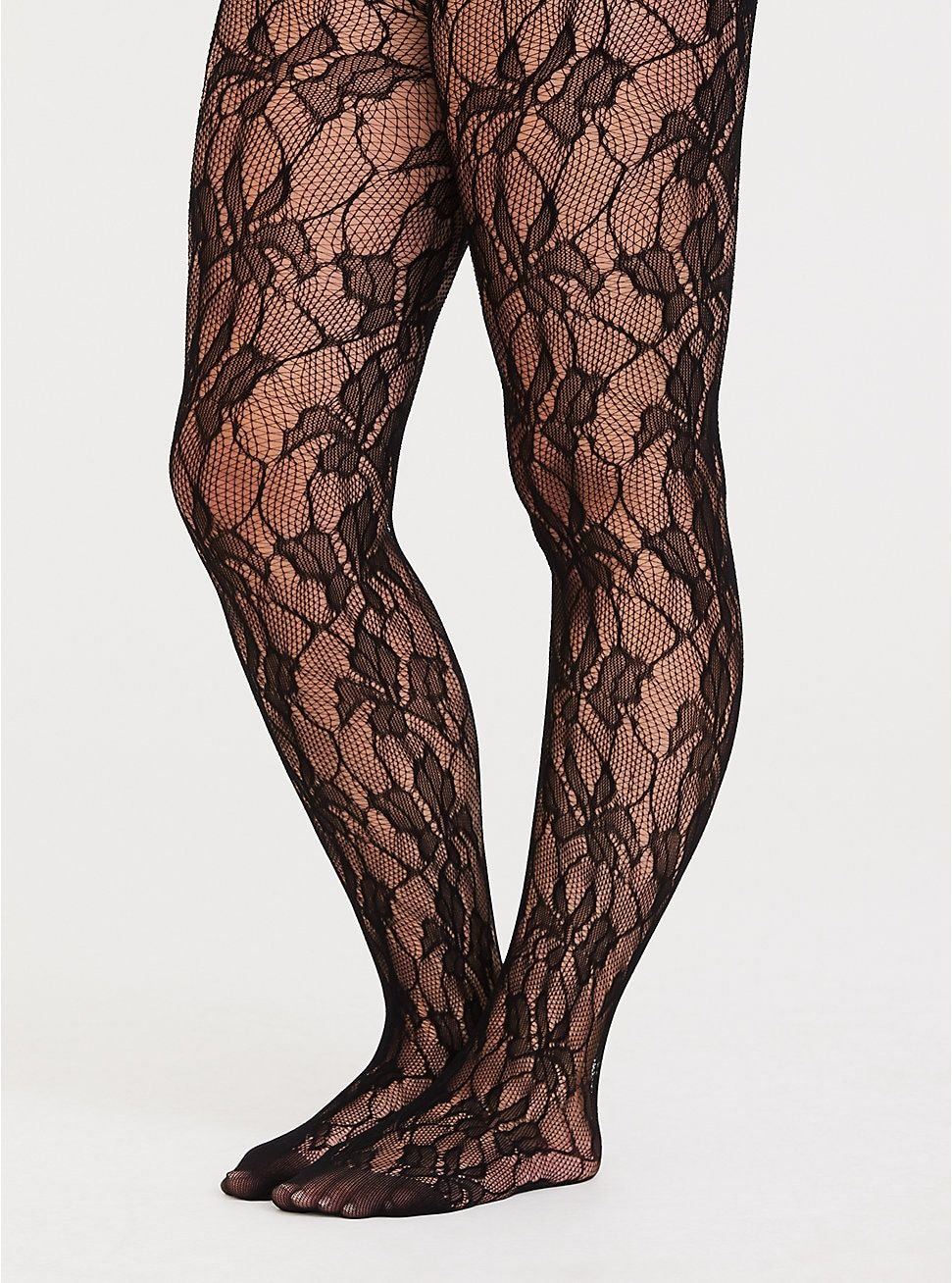 197252099d Black Lace Tights