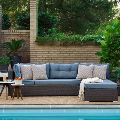 Relax A Lounger Anaheim Patio Sofa   JCPenney