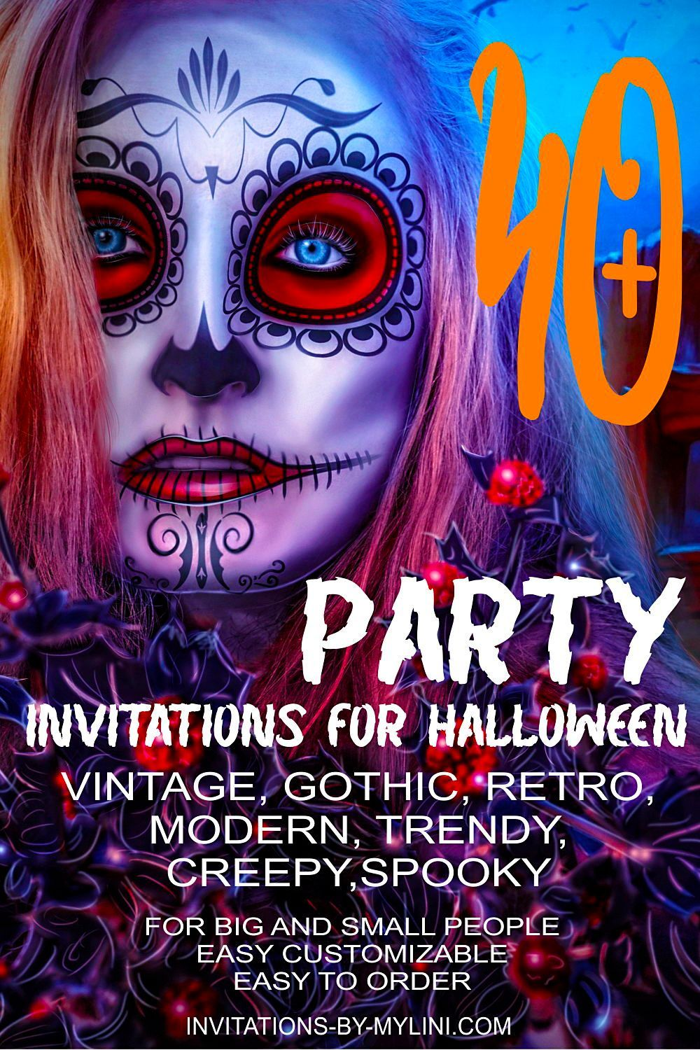 With our Halloween ideas for your Halloween party, your Halloween party invitations will be great. Together with your halloween party ideas for house decoration, your guests will be delighted. Order today and your halloween party invitations.