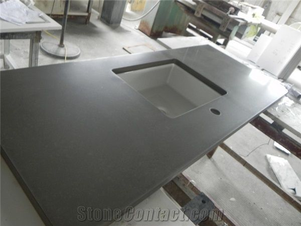 description dark grey quartz kitchen countertops kitchen