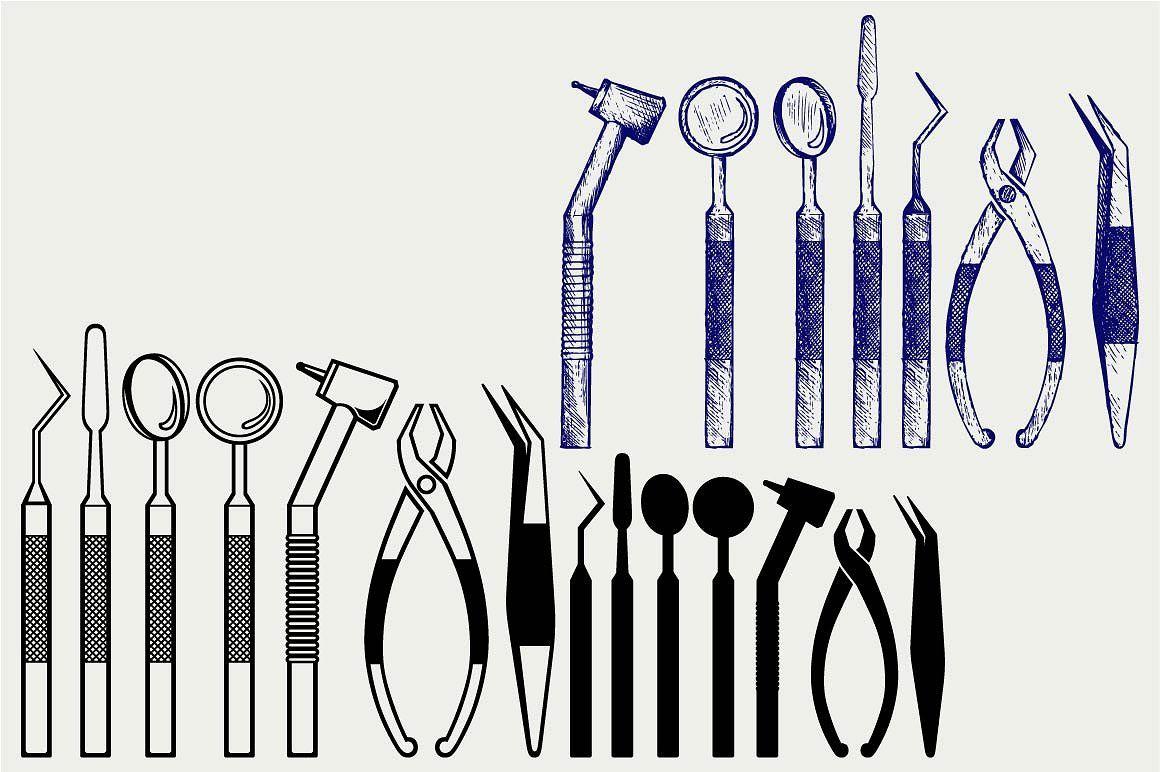 Tools dental SVG Dental, Svg, Dental tools