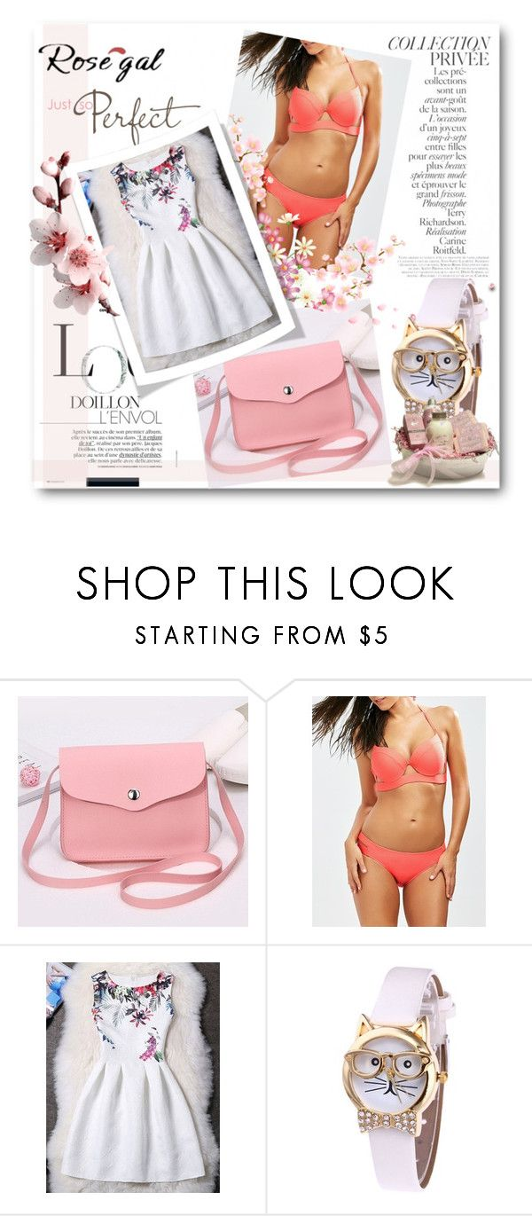 """""""Rosegal 4/ III"""" by meldin ❤ liked on Polyvore featuring By Terry, vintage and rosegal"""
